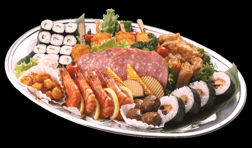 寿司入りオードブル